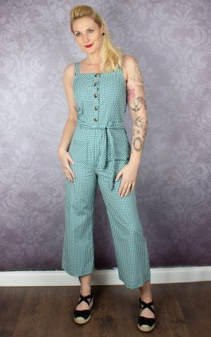 King Louie Beth Jumpsuit Vichy