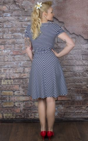 King Louie - Skater Dress Breton Stripe