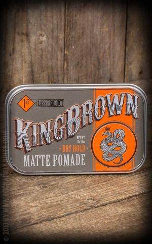 Kingbrown Matte Pomade
