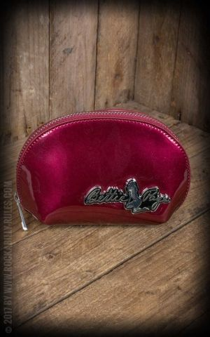 Sourpuss Clothing Cosmetic Bag - Bettie Page