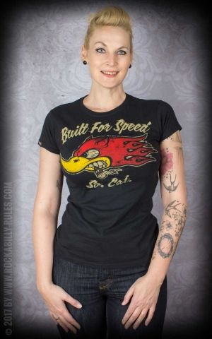 La Marca del Diablo T-Shirt Femme - Built for speed
