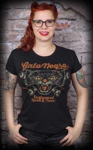 La Marca del Diablo Girl Shirt - Gato Negro