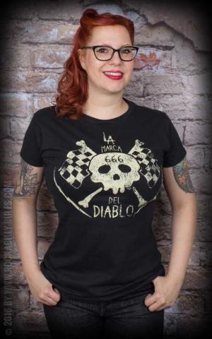 La Marca del Diablo Girl Shirt - Logo Classic