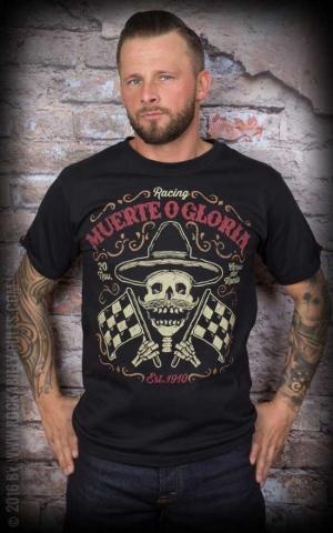 La Marca del Diablo T-Shirt - Muerte O Gloria