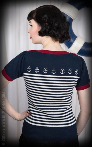 Rumble59 Ladies - Pullover - Let go anchor!