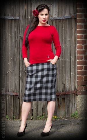Rumble59 Ladies - Pullover - The Girl in Red