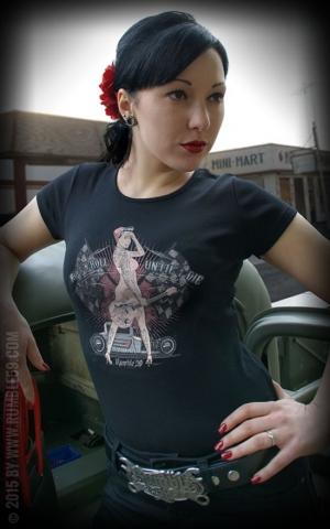 Rumble59 - Until I die - Ladies T-Shirt - Vintage Washed