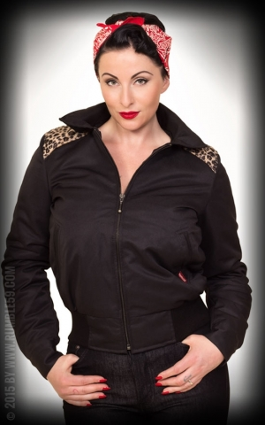 Rumble59 - Ladies Workerjacket with Leo Patch