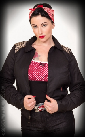Rumble59 - Ladies Workerjacke mit Leo Patch
