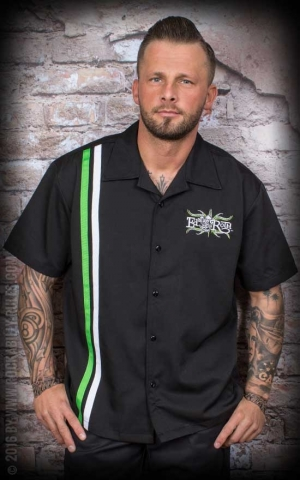 Licensed Steady Shirt - Rat Fink Roth Racer Button Up