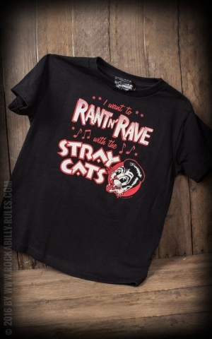 Limitiertes Kids T-Shirt Stray Cats - Ran't rave