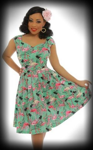 Lindy Bop - Vintage Dress Nadia