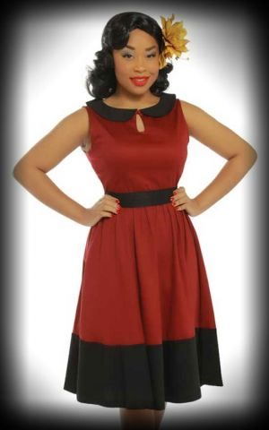 Lindy Bop - Swing Dress Beattie