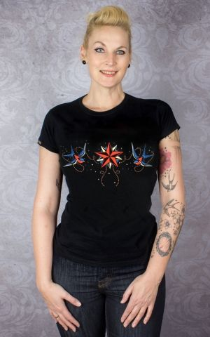 Liquor Brand Girl Shirt - Nautical Star