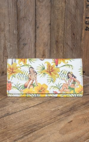 Liquor Brand - Wallet Tiki Time