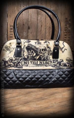 Liquor Brand - Handbag Leopard La Vida, No vale Nada