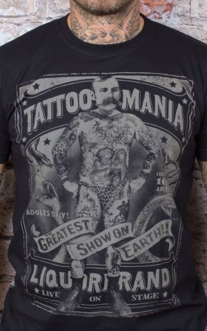 Liquor Brand T-Shirt - Tattoo Mania