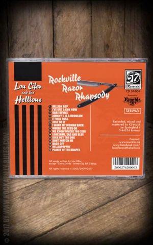 Lou Cifer - Rockville Razor Rhapsody