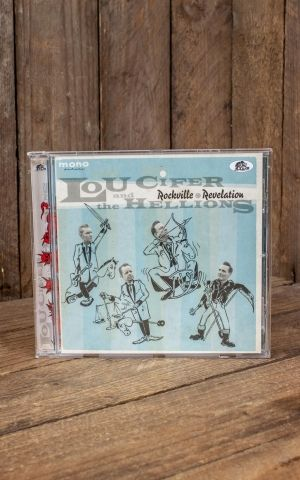 CD Lou Cifer and the Hellions - Rockville Revelation