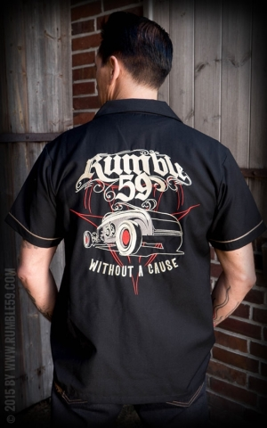 Rumble59 - Lounge Shirt - Without a cause