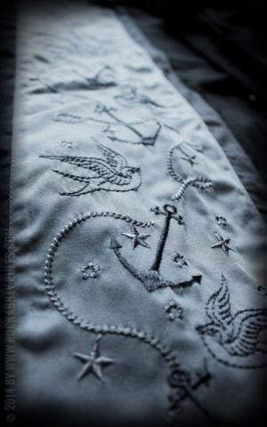 Rumble59 - Lounge Shirt - Swallows n Anchors