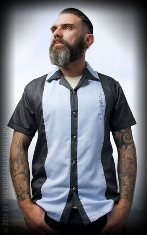 Rumble59 - Lounge Shirt - Flying Dices