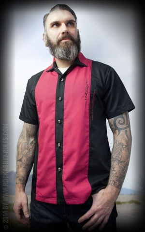 Rumble59 - Lounge Shirt - Singin Skulls