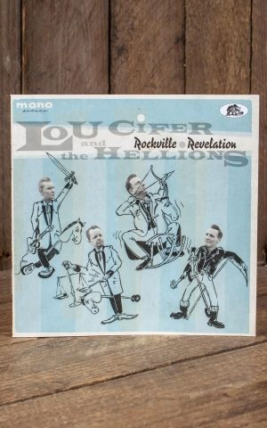 LP Lou Cifer and the Hellions - Rockville Revelation