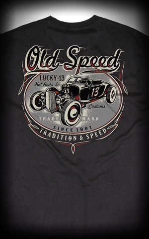 Lucky13 T-Shirt Old Custom