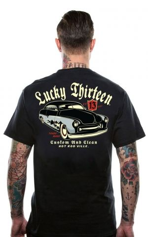 Lucky13 Mens T-Shirt - Custom Clean