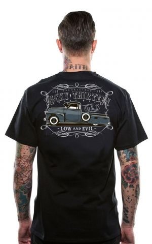 Lucky13 Mens T-Shirt - The Dragger