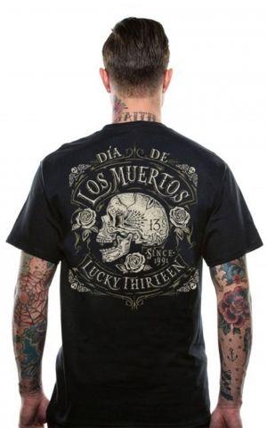 Lucky13 T-Shirt Homme - Dead Skull
