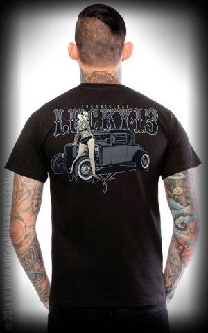 Lucky13 T-Shirt - Pin Up Queen