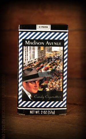 Madison Avenue Kaugummi Zigaretten