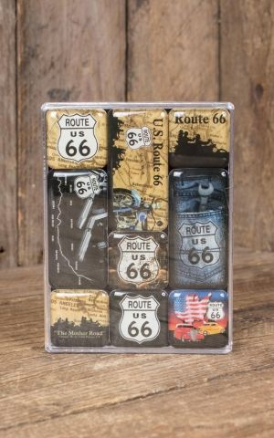 Magnet-Set US Highways - Route 66 Map