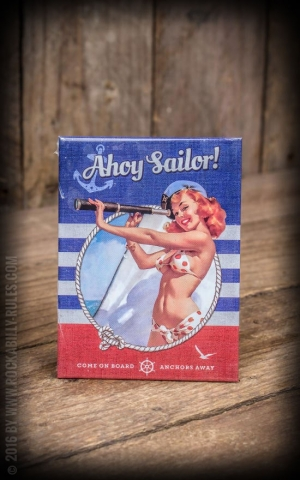 Magnet PinUp Ahoy Sailor!