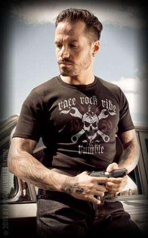Rumble59 - T-Shirt - Race - Rock - Ride
