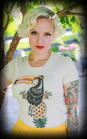 Mischief Made Ladies Shirt - Toucan
