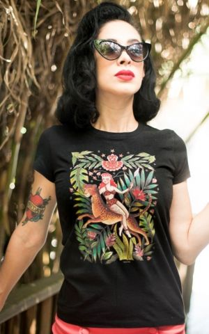 Mischief Made - T-Shirt Femme Jungle Queen