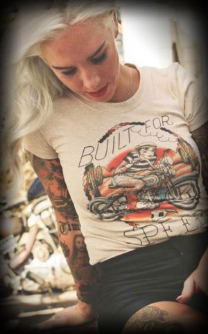 Mischief Made - Damen-T-Shirt Built for Speed