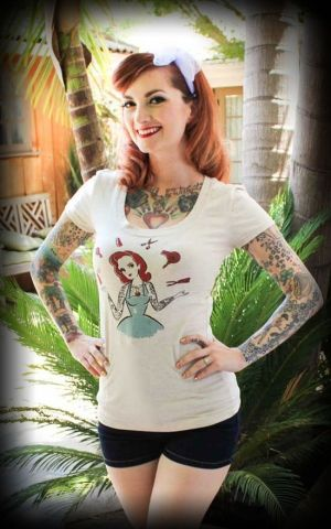 Mischief Made - Womens T-Shirt Cherry Beauty