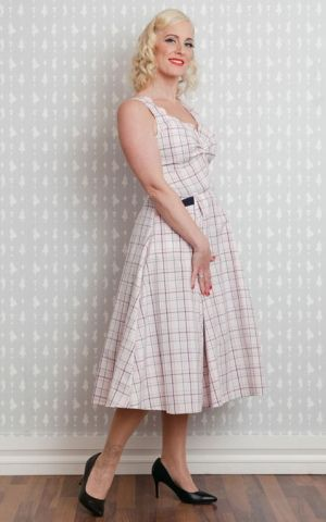 Miss Candyfloss Swing Dress Vichy Magdalena