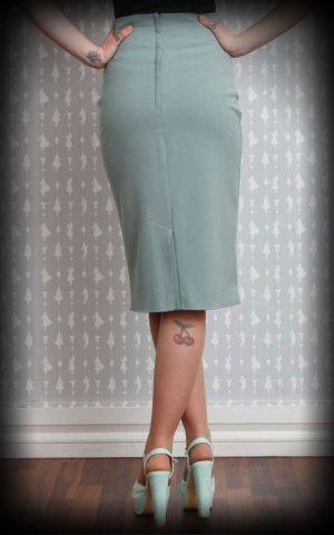 Miss Candyfloss Pencilskirt Liselotte, mint