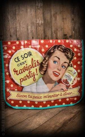 Einkaufstasche - Ravioli Party