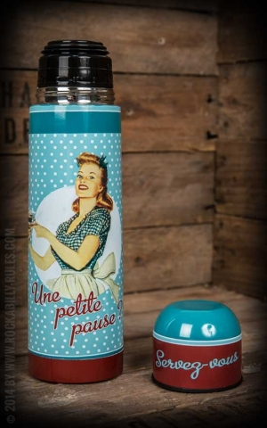 Thermos Bottle - Miss Fifties - 500ml