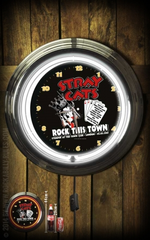 Neon Clock - Stray Cats Rock this town