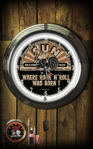 Neon Clock - Sun Records - Where RnR