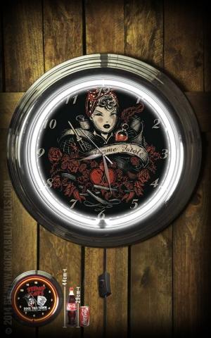 Neon Clock - Femme Fatale