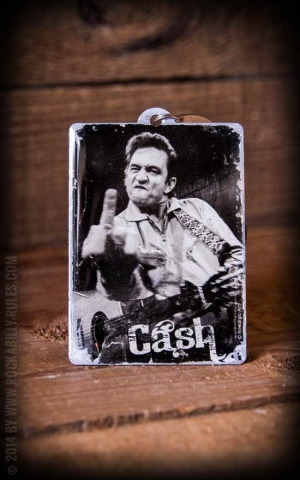 Key Chain Johnny Cash