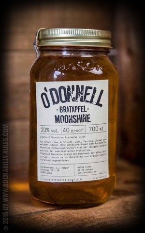 Original ODonnell Moonshine baked apple
